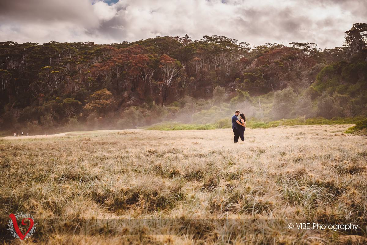 Danni and Mark Engagement Shoot Central Coast 1