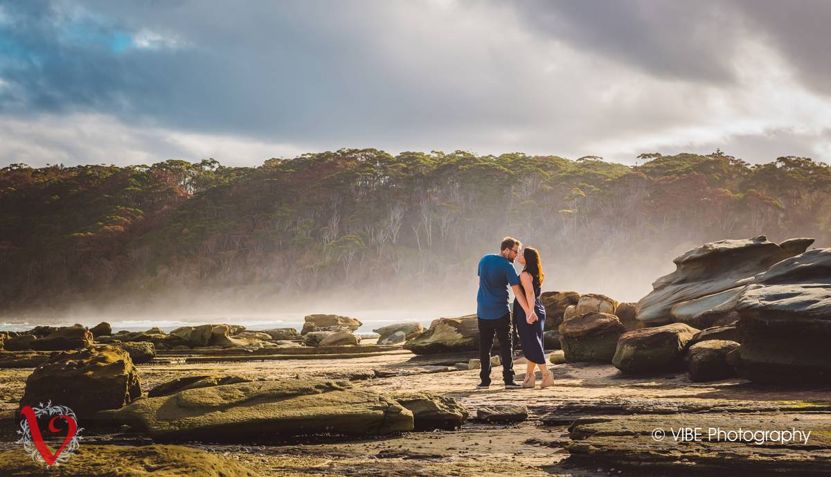 Danni and Mark Engagement Shoot Central Coast 6