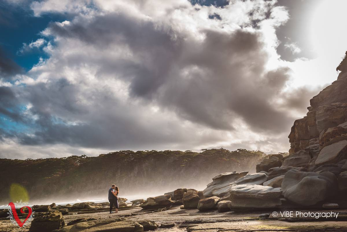 Danni and Mark Engagement Shoot Central Coast 7