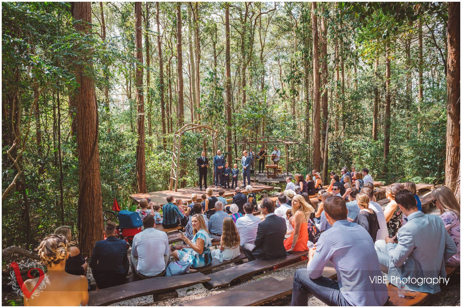 The Forest Chapel Central Coast Wedding Photography VIBE Photography 9