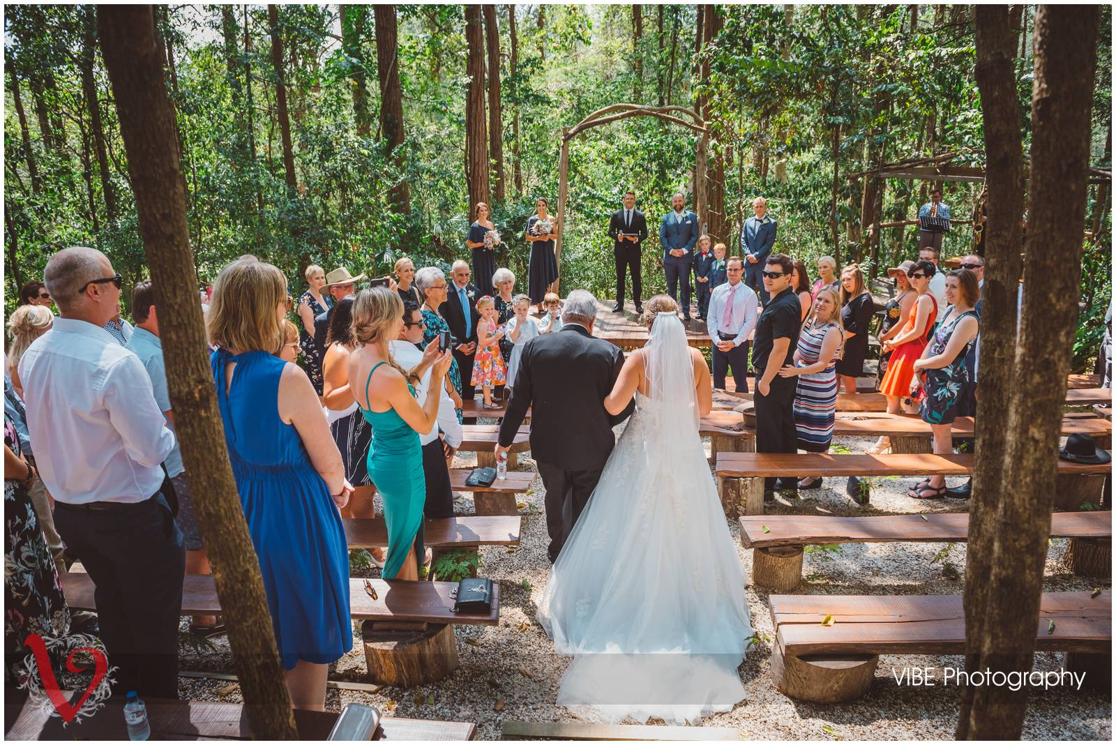 The Forest Chapel Central Coast Wedding Photography VIBE Photography 11