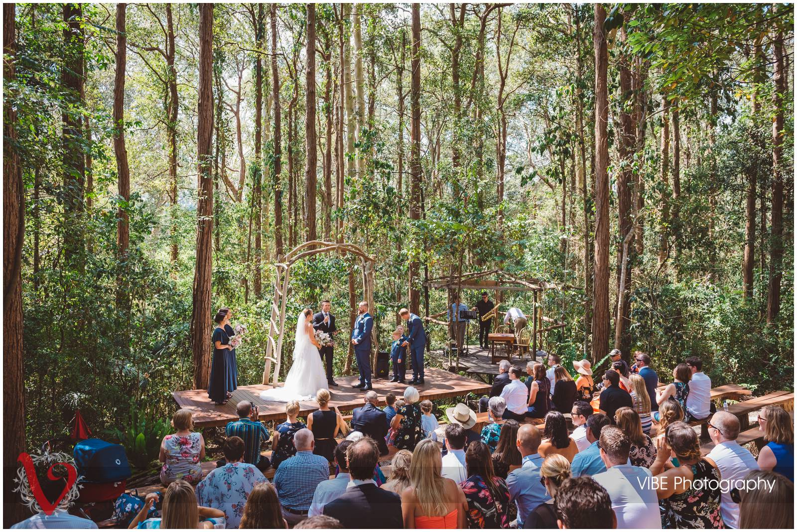 The Forest Chapel Central Coast Wedding Photography VIBE Photography 12