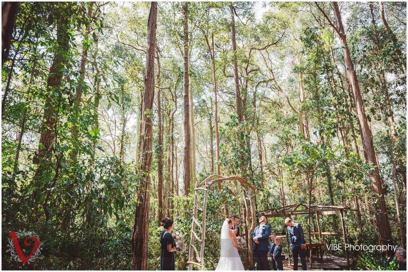 The Forest Chapel Central Coast Wedding Photography VIBE Photography 13