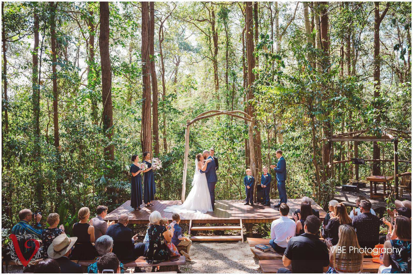 The Forest Chapel Central Coast Wedding Photography VIBE Photography 14