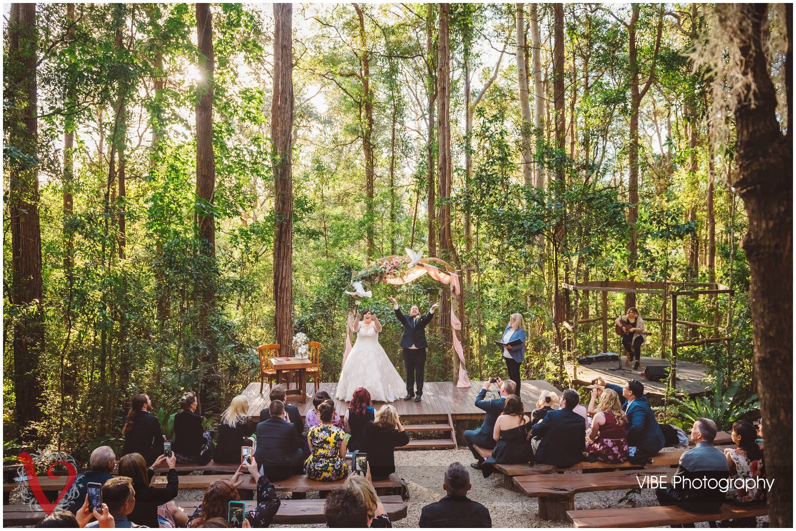 The Forest Chapel Wedding (7)