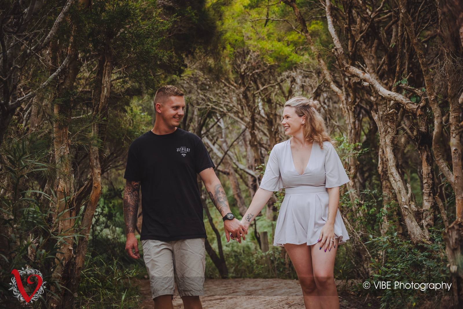 Central Coast Engagement Portraits